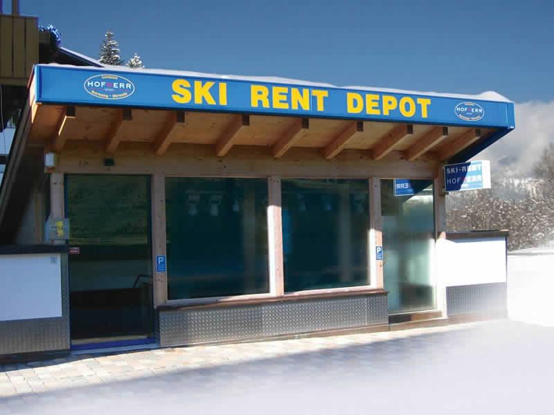 Skiverhuur winkel Hofherr Sport, Haus Egghof - HNr. 24 in Berwang