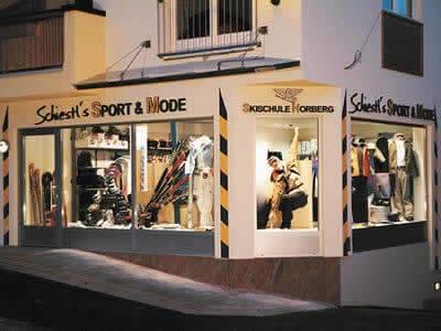 Skiverhuur winkel Sport Schiestl, Hippach in Hippach-Dorf 9