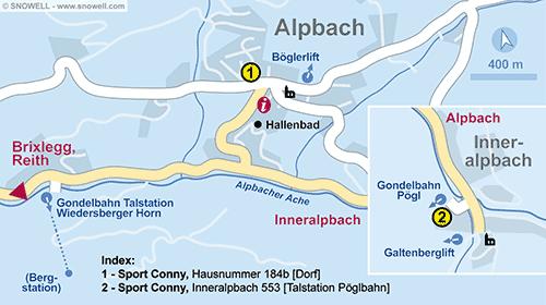 Plattegrond Alpbach