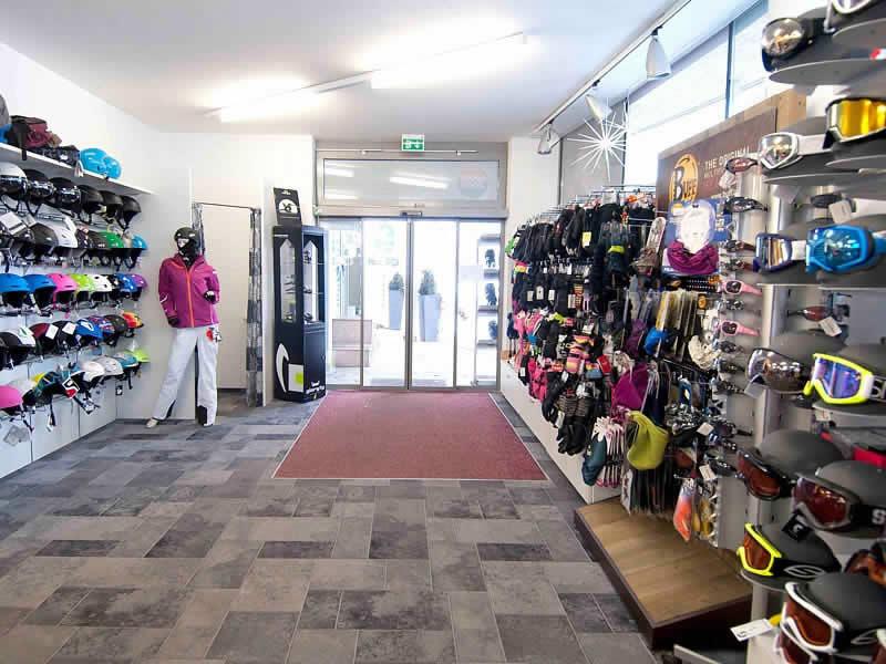 Skiverhuur winkel Sport Klieber, HNr. 387 [Talstation Reitlehen Bergbahnen] in Eben im Pongau