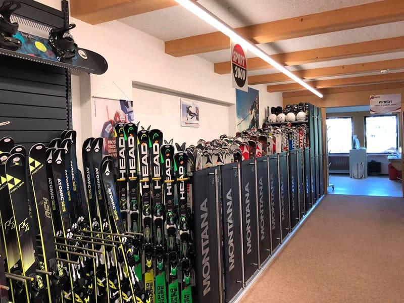 Skiverhuur winkel SPORT 2000 Sportcenter Knitel, HNr. 54 in Warth
