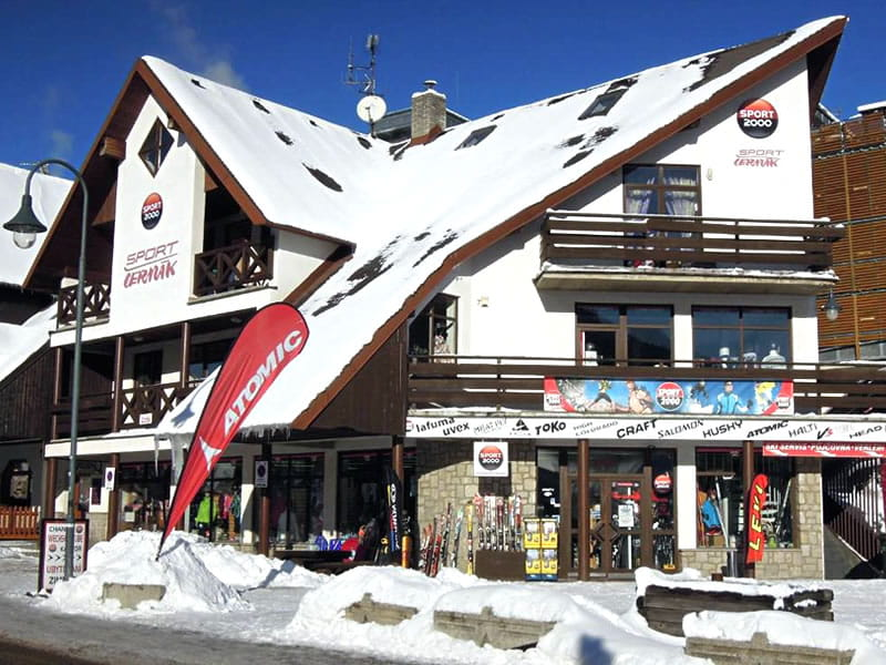 Skiverhuur winkel Sport Cermak, Harrachov 622 in Harrachov