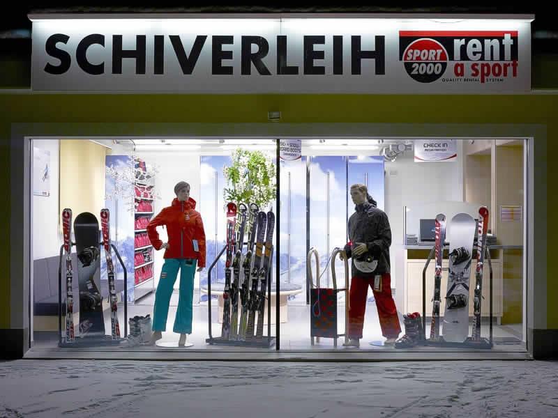 Skiverhuur winkel SPORT 2000 Knitel, HNr. 77 in Holzgau