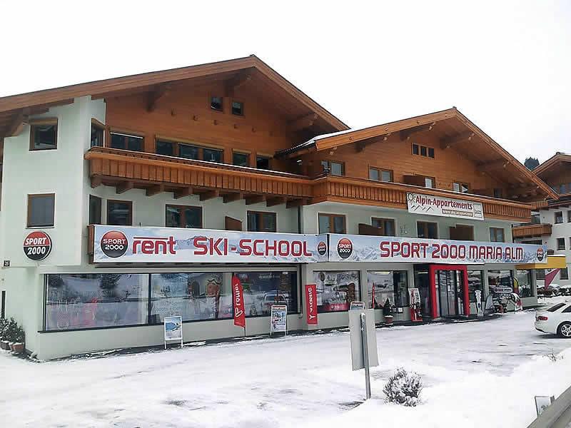Skiverhuur winkel SPORT 2000 Schösswendter, Hochkönigstrasse 25 in Maria Alm