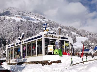 Skiverhuur winkel Sport Schiestl, Schwendau in Horbergbahn Talstation - Kohlstatt 260