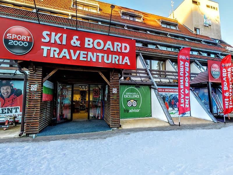 Skiverhuur winkel Ski & Board Traventuria - Ski Borovets, Hotel Ela in Borovets