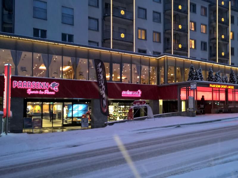 Skiverhuur winkel Paarsenn Sports, Im Hotel Seehof, Promenade 159 in Davos-Dorf