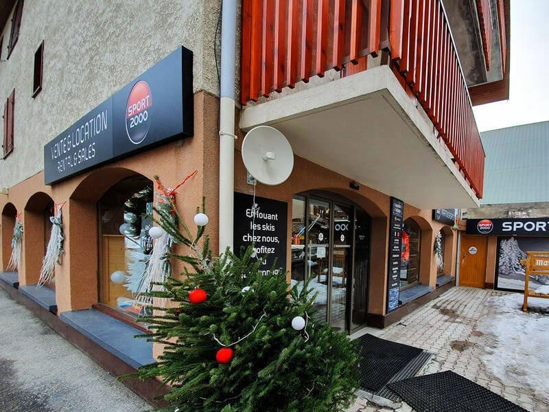 Skiverhuur winkel MARTIN SPORTS, Immeuble Crêt de Peré in Valloire