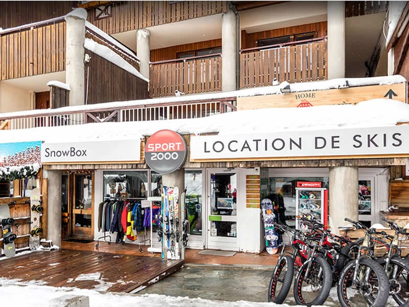 Skiverhuur winkel SNOWBOX, Immeuble du Golf, 22 Route d'Italie in Montgenèvre