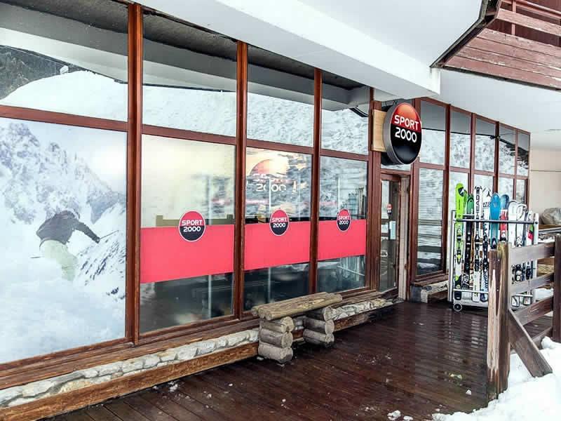Skiverhuur winkel WHITE STORM, Immeuble Le Grand Bois in La Tania