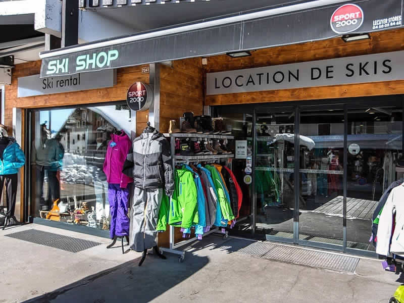 Skiverhuur winkel SKI SHOP, Immeuble le Montarquis in Le Chinaillon - Le Grand Bornand