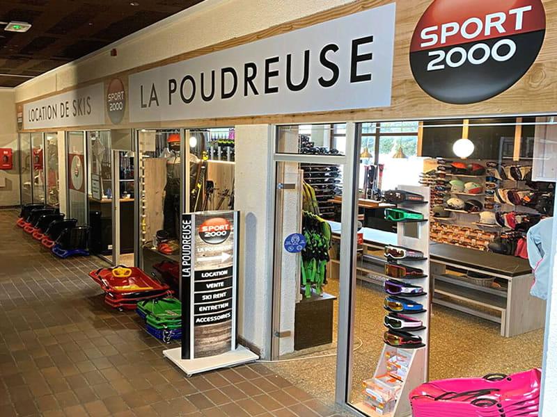 Skiverhuur winkel LA POUDREUSE, Immeuble le Pégase Phénix in Le Corbier