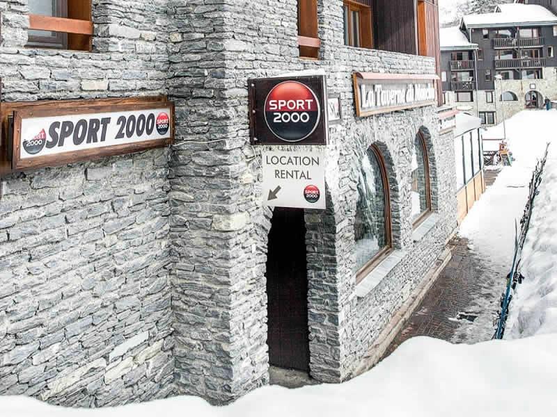 Skiverhuur winkel RI GLISSE SPORT, Immeuble Trompe l'Œil - Bellentre in La Plagne - Les Coches
