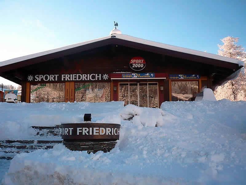 Skiverhuur winkel Sportalm Friedrich, Katschberg 332 in Katschberg
