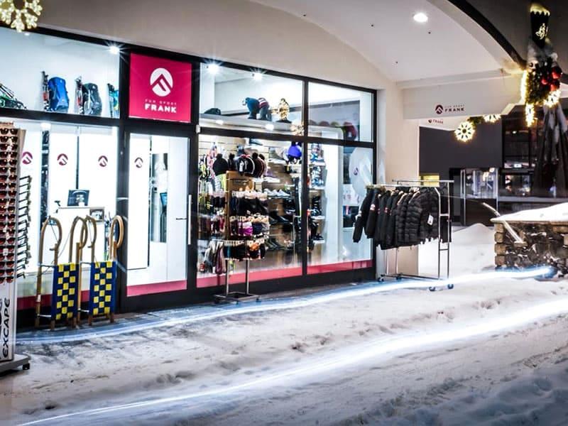 Skiverhuur winkel FunSport Frank, Klosterstrasse 608 in Seefeld