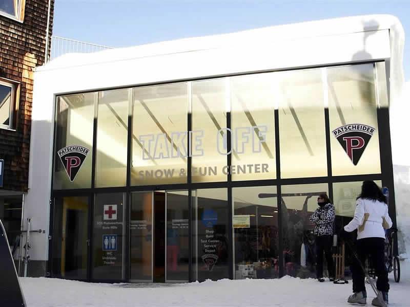 Skiverhuur winkel Takeoff Snow + Fun Center, Komperdell Mittelstation in Serfaus