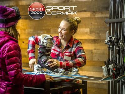 Skiverhuur winkel Sport Cermak, Tanvald in Krkonosska 116