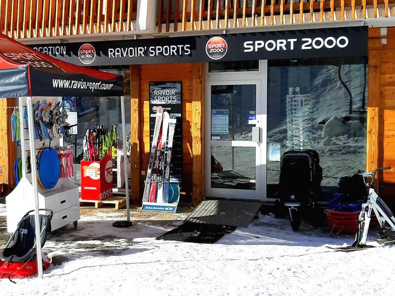 Skiverhuur winkel RAVOIR'SPORTS, L'Alouette in Saint Francois Longchamp