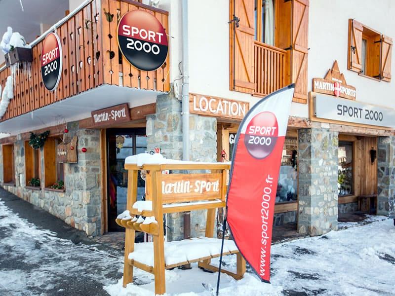 Skiverhuur winkel MARTIN SPORTS, L'Orée des Pistes in Valloire