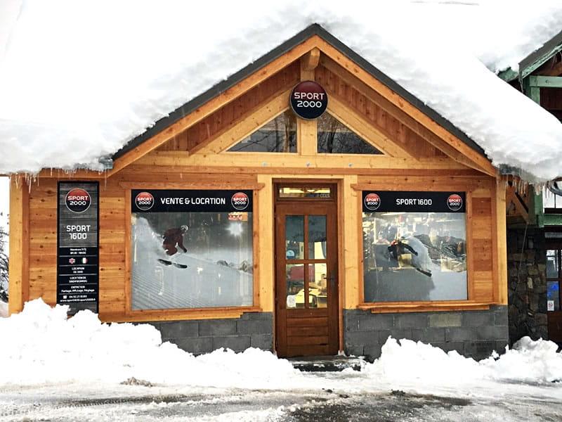 Skiverhuur winkel SPORT 1600, La chaumière in Puy Saint Vincent 1600