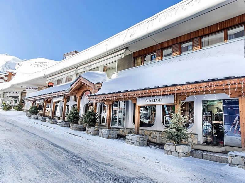 Skiverhuur winkel CLAREY SPORT, Le Bec Rouge - Rue de la Poste in Tignes Le Lac