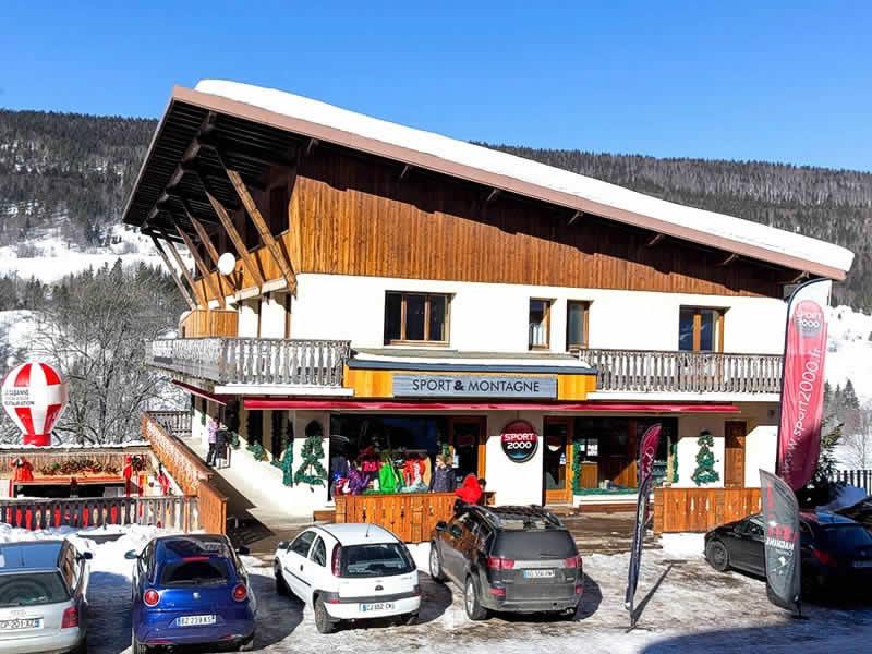 Skiverhuur winkel SPORT 2000 GROSSIORD, Le Brocard in Lelex