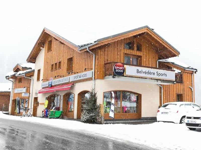 Skiverhuur winkel BELVEDERE SPORTS, Le Crey in Champagny en Vanoise