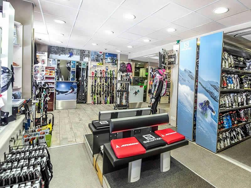 Skiverhuur winkel LA SAPINIERE SPORT, Le Hameau de la Sapinière - Quartier de reberty - Les montagnettes 3 vallées in Les Menuires