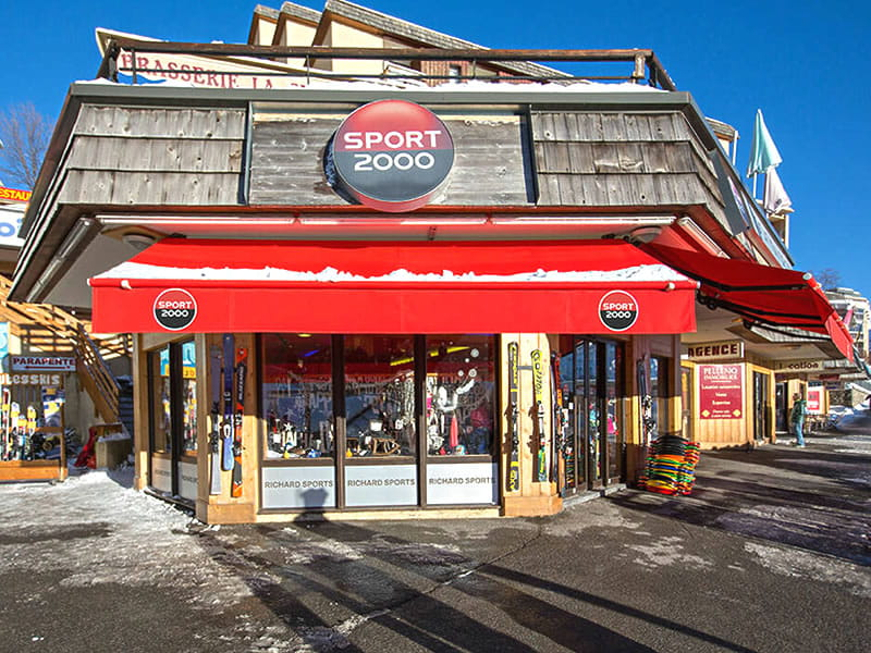 Skiverhuur winkel RICHARD SPORTS, Le rond point des Pistes in Orcieres Merlettes