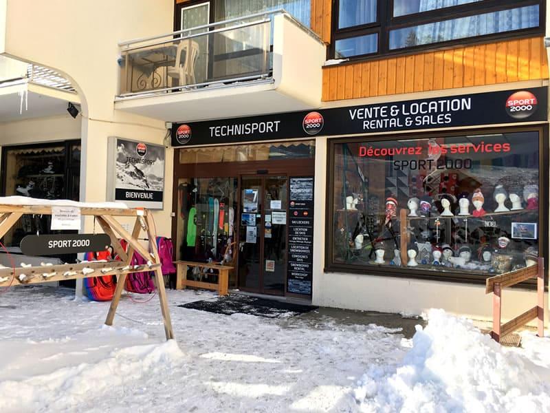 Skiverhuur winkel TECHNISPORT, Les Adrets in Les 7 Laux-Prapoutel