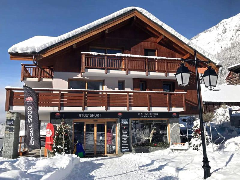 Skiverhuur winkel Atou Sport, Les balcons de Vaujany in Vaujany