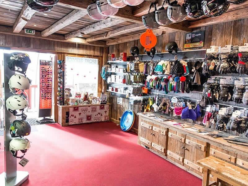 Skiverhuur winkel SPORT SERVICE, Les Eucherts in La Rosiere