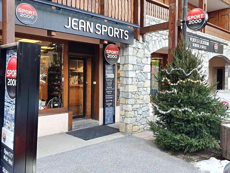 Skiverhuur winkel JEAN SPORTS, Les Grangeraies - Rue Notre Dame in Saint Martin de Belleville