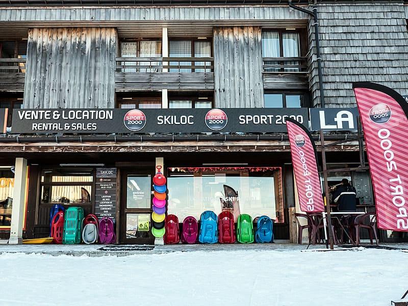 Skiverhuur winkel SKI LOC, Les Plateaux de Saix in Samoëns 1600