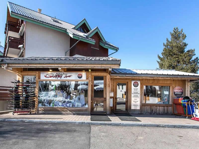 Skiverhuur winkel GUILLET SPORT, Les Rambins in Correncon-en-Vercors