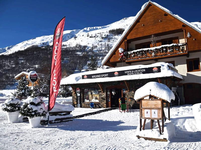 Skiverhuur winkel NAGANO SPORT, Les Verneys in Valloire