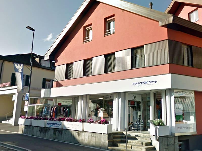 Skiverhuur winkel Sportfactory Dumoulin, Maienfelderstrasse 4 in Bad Ragaz