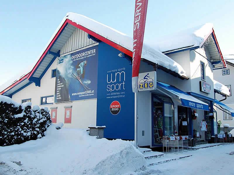 Skiverhuur winkel WM - SPORT 2000, Markt 113 in Abtenau