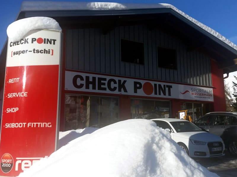 Skiverhuur winkel Checkpoint Wassermann, Nauders 246 in Nauders