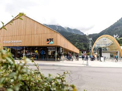 Skiverhuur winkel NTC - Oberstdorf, Oberstdorf in Nebelhornstrasse 67 - Nebelhornbahn Talstation
