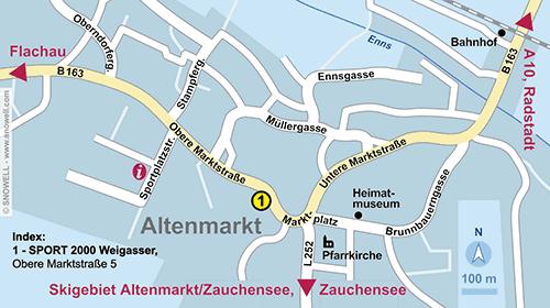 Plattegrond Altenmarkt