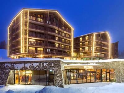 Skiverhuur winkel Gisler Sport, Arosa in Oberseepromenade 2 - Valsana Hotel und Appartement