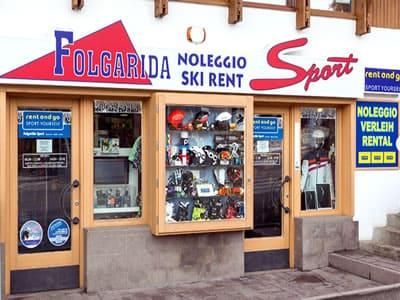Skiverhuur winkel FOLGARIDA SPORT, Folgarida in P.le Folgarida, 4/5
