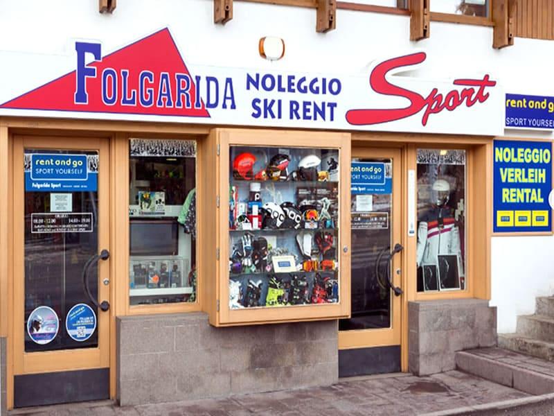 Skiverhuur winkel FOLGARIDA SPORT, P.le Folgarida, 4/5 in Folgarida