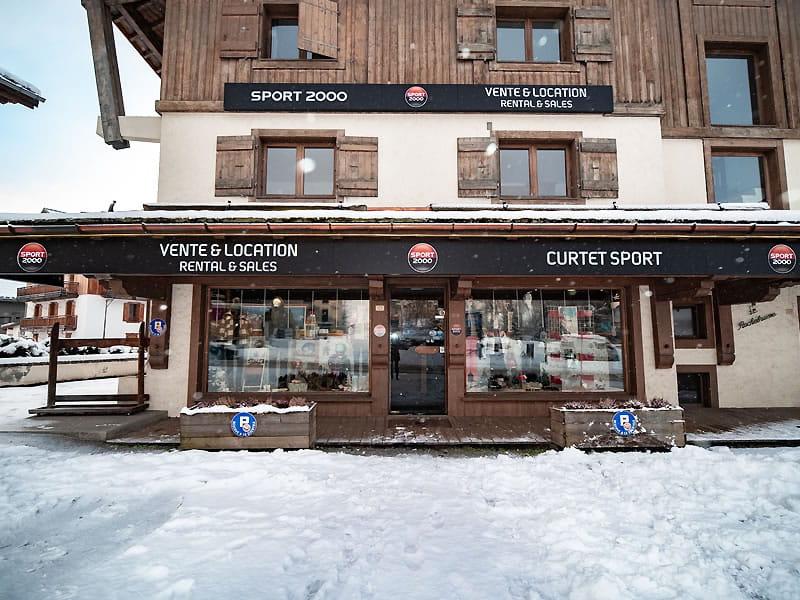 Skiverhuur winkel CURTET SPORT, Place de l'Eglise - 121, route du Val d'Arly in Praz sur Arly