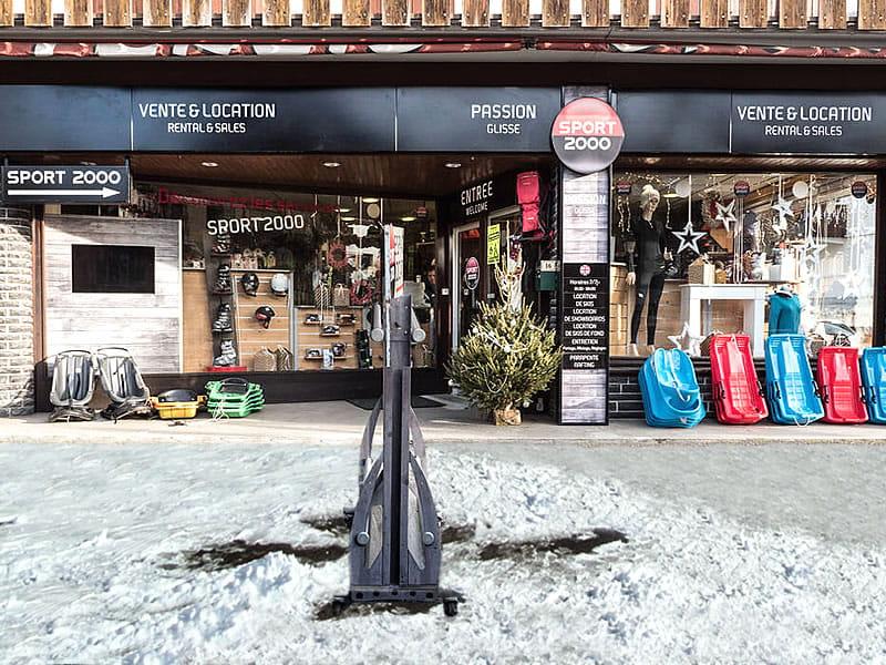 Skiverhuur winkel PASSION GLISSE, Place de la Gare in Samoëns
