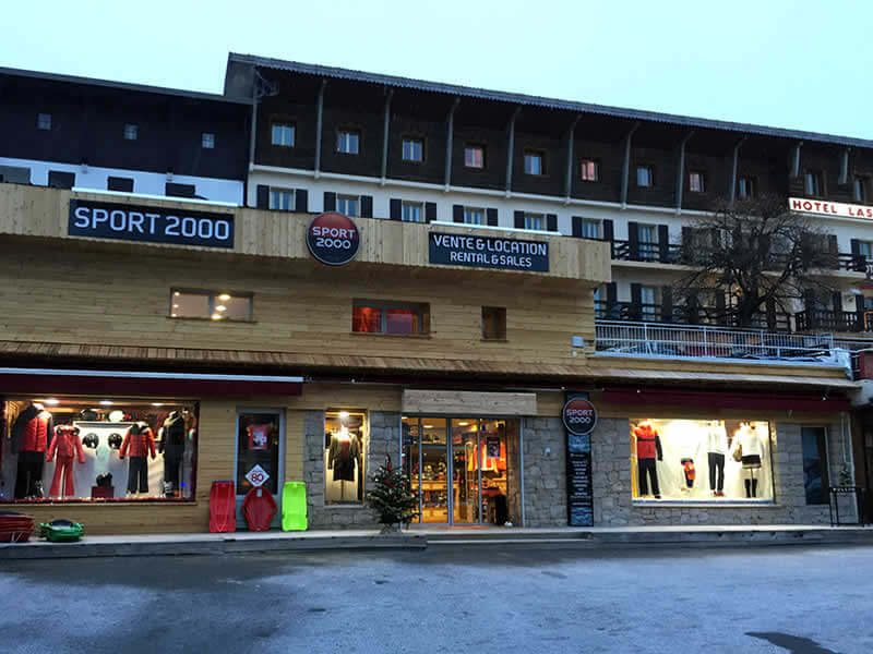Skiverhuur winkel ADVENTMOUNT, Place du centre in Auron