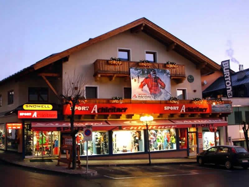 Skiverhuur winkel Achleitner Sport, Postplatz 2 in Zell am See