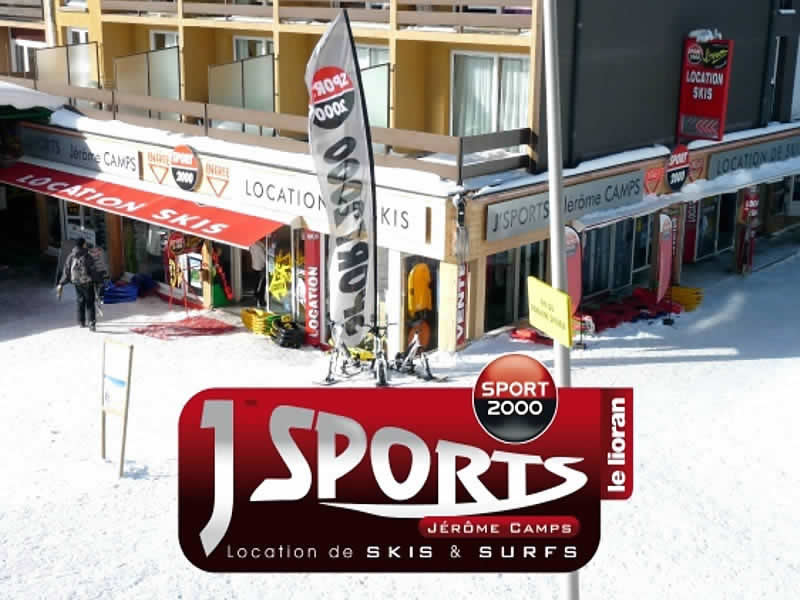 Skiverhuur winkel J'SPORTS, Prairie des Sagnes - Centre station in Super Lioran
