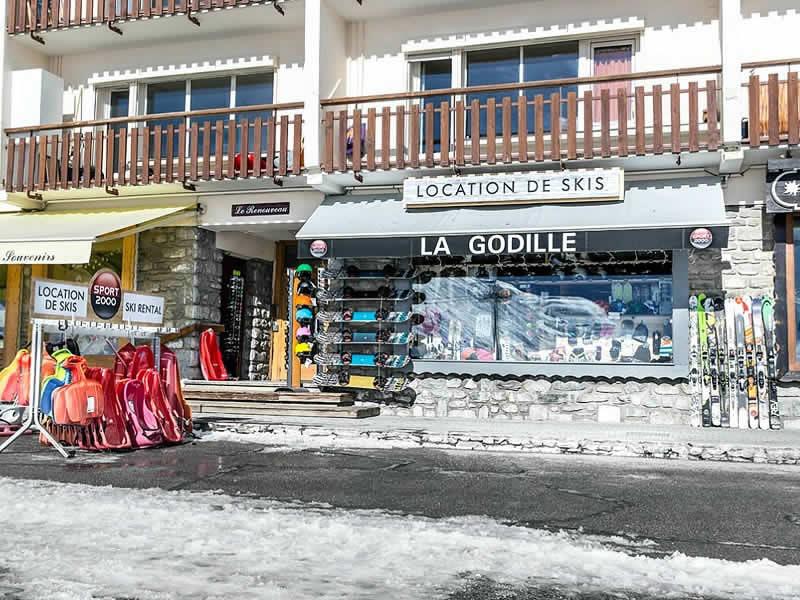 Skiverhuur winkel LA GODILLE, Promenade de Tovière - Le Rosset in Tignes Le Lac